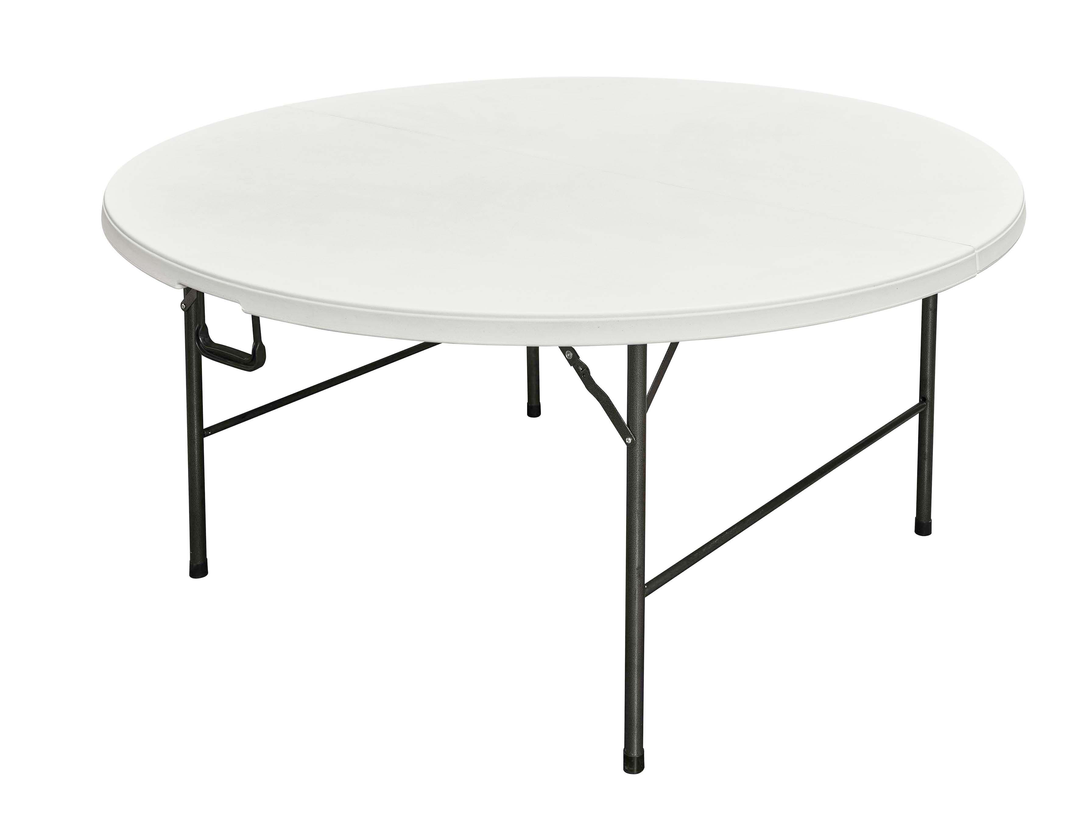 Table pliante ronde pour r ception - Table ronde pliante valise ...