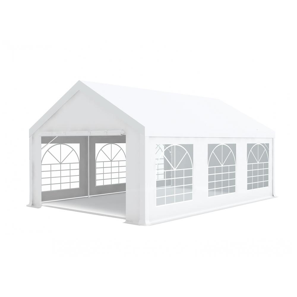 chapiteau barnum de r ception 4x6m pvc 500g m tubes 50mm blanc. Black Bedroom Furniture Sets. Home Design Ideas